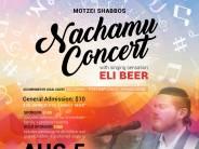 Motzei Shabbos Nachamu Community Chesed Concert! With Eli Beer