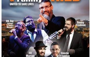 United Hatzalah Sukkot – Concert Extravaganza: AVRAHAM FRIED & FAMILY