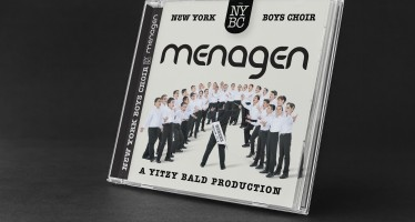 "Yitzy Bald Proudly Presents A Gift For The New Year ""New York Boys Choir 3: Menagen"""