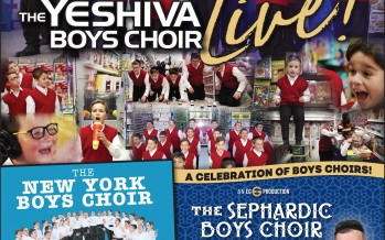EG Productions Presents A CELEBRATION OF BOYS CHOIRS! YBC, NYBC & THE SEPHARDIC BOYS CHOIR