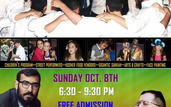 Community Sukkot Festival With SHUKY & Mendy J