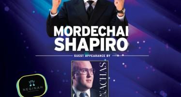 CHAZAQ presents: MORDECHAI SHAPIRO Guest Appearance by NACHAS