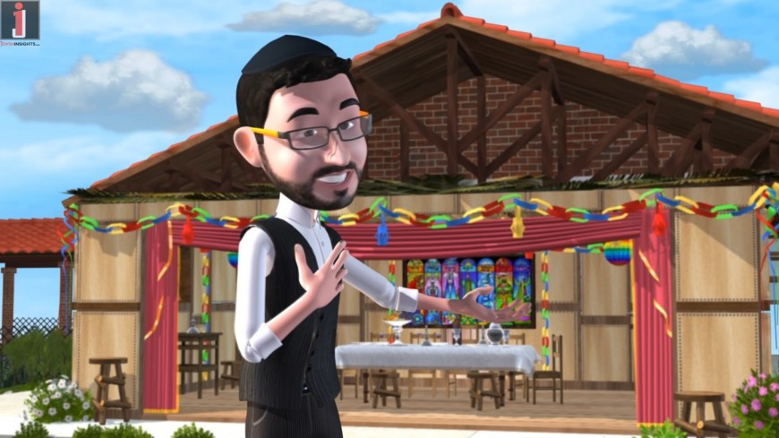 Sukot Medley with Micha Gamerman [Official Animation Video]
