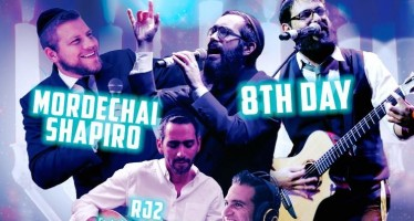 SAVE THE DATE! SOUNDS OF LIGHT CONCERT – 8TH DAY – MORDECHAI SHAPIRO – RJ2