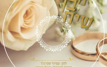 "In Honor Of His Wedding Singer Amichai Spigler Releases New Single ""Mi Von Siach"""