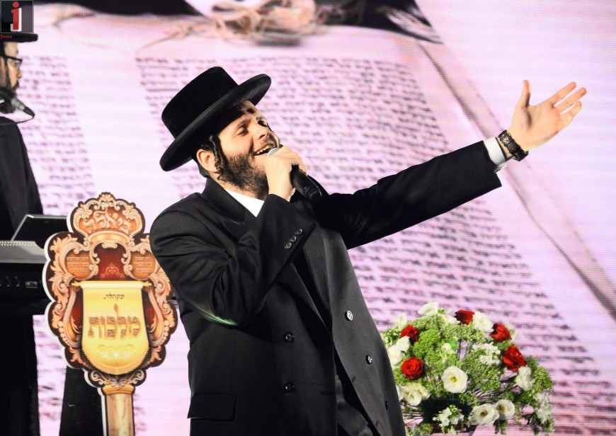 Zanvil & Dovid Hamelech's Violin – The Moving Performance with Malchus Choir & Yanki Rubin