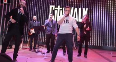 Chabad of The Valley Marks Chanukah at Universal Studios CityWalk