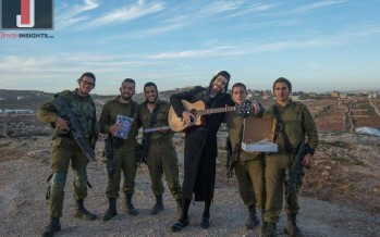 R' Mendel Roth, One of The Greatest Chasidic Singer Appeared Before Charedi Fighters in The Givati Brigade