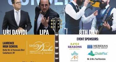 CAHAL CONCERT 8! LIPA, 8TH DAY & URI DAVIDI