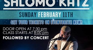 Lighthouse Project Presents Live! Shlomo Katz – A Night of Torah & Music