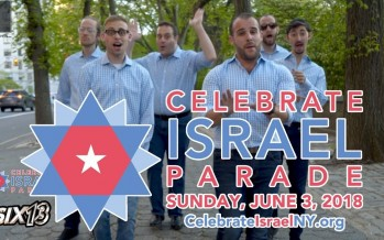 Six13 – Sababa! (2018 NYC Celebrate Israel Parade Theme)