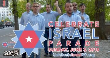 Six13 – Sababa! (2018 NYC Celebrate Israel Parade Theme)