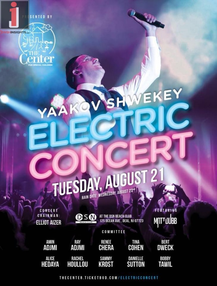 Electric Concert with Yaakov Shwekey