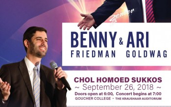 BENNY FRIEDMAN & ARI GOLDWAG IN CONCERT