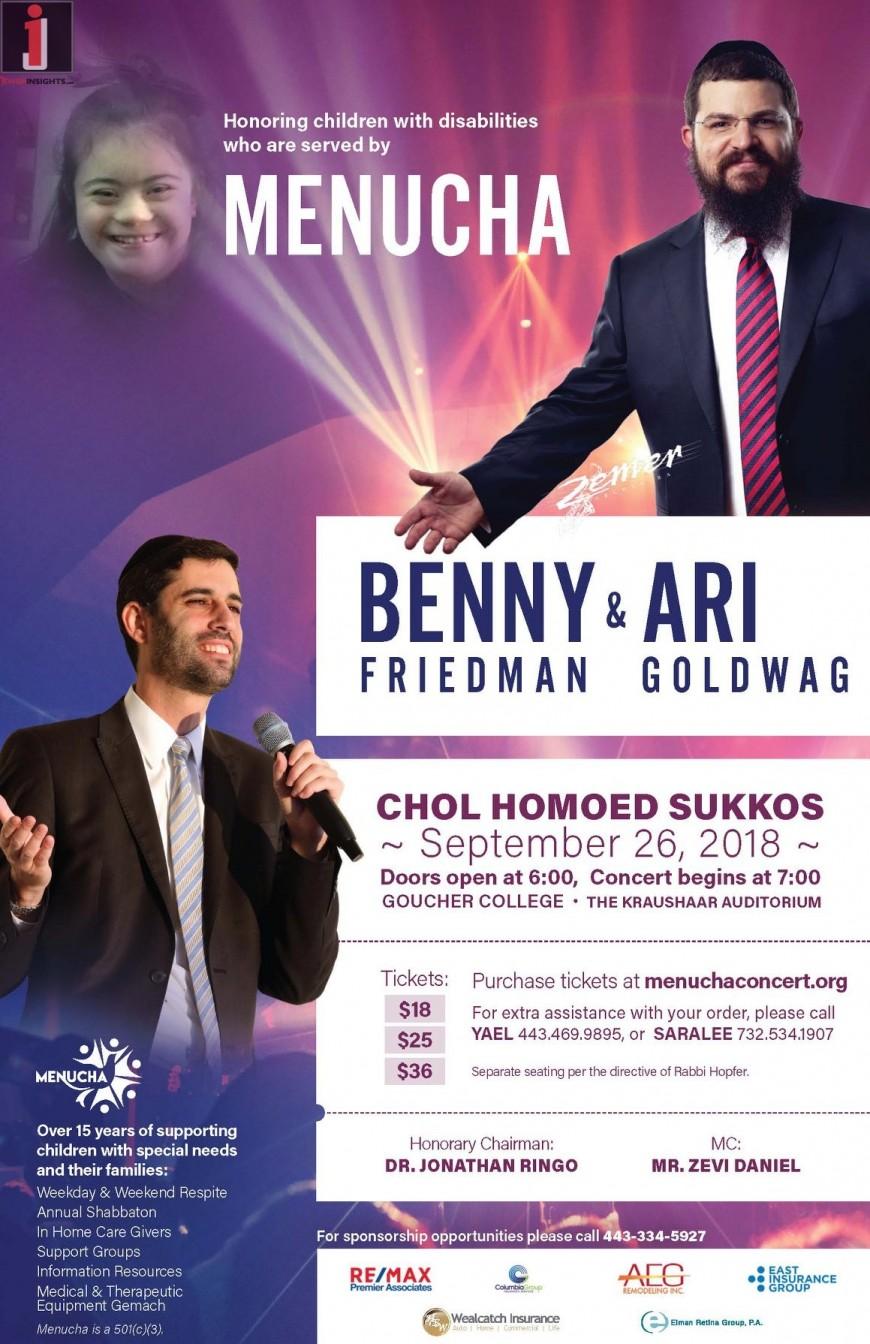BENNY FRIEDMAN & ARI GOLDWAG IN CONCERT