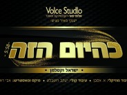 """In Honor of the Approaching Yomim Noroim: Yisroel Vekselman Sings """"K'hayom Hazeh"""""""
