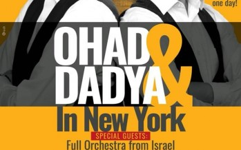 OHAD & DADYA IN NY [2 Shows In 1 Day]