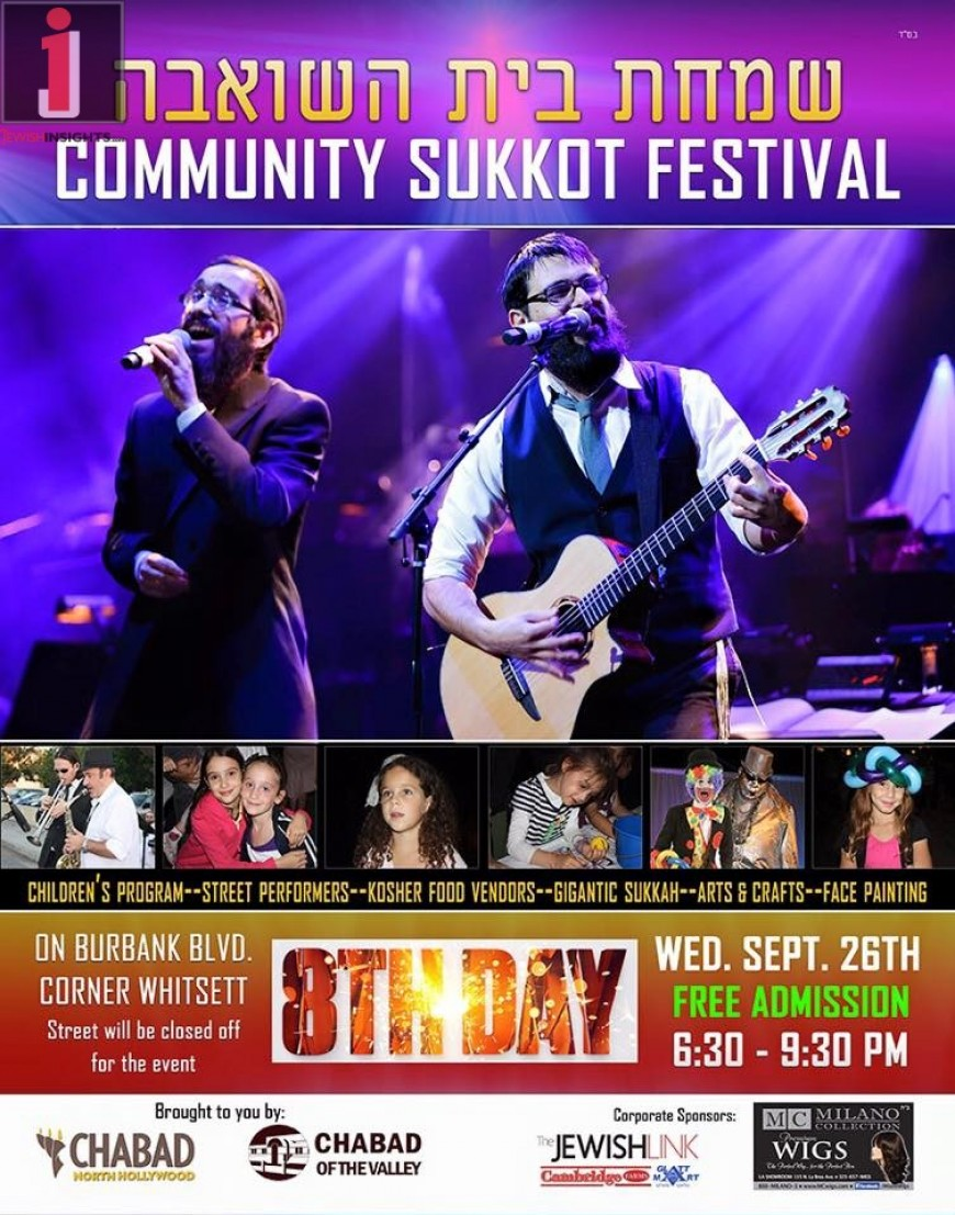 Community Sukkot Festival With 8TH DAY