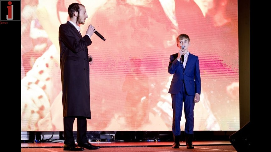 """A Million Dreams"" Performed by Shulem Lemmer and Dovid Hill – Chai Lifeline's 2018 Annual Gala"