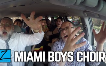 Yerachmiel Begun & The Miami Boys Choir Carpool Karaoke