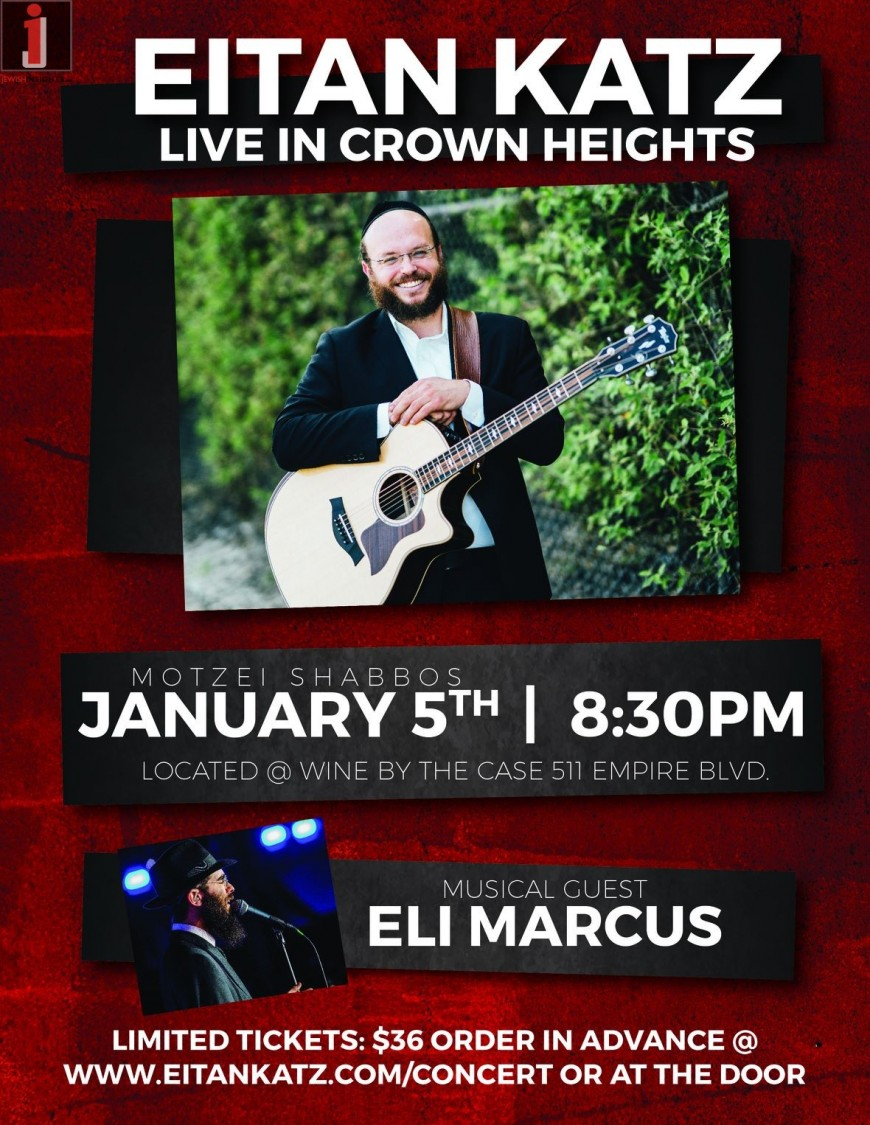 Eitan Katz Live in Crown Heights