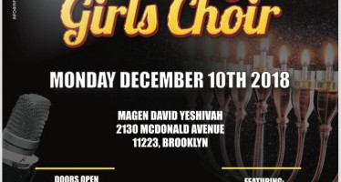 Chanukah Concert For The Very First Time!!! DOBBY BAUM & THE BROOKLYN GIRLS CHOIR
