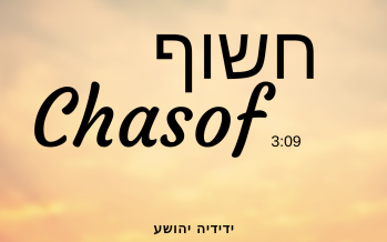 Yedidya Yehoshua – Chasoif