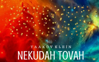 Yaakov Klein – Nekudah Tovah [Official Lyric Video]