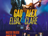 The Concert of The Year: GAD ELBAZ & ALEX CLARE