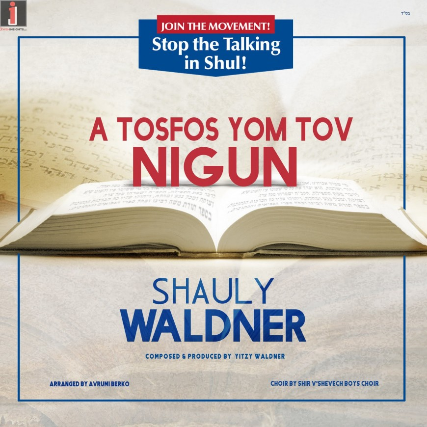 Shauly Waldner: The Tosfos Yom Tov Nigun – New Single