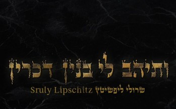 "Sruly Lipschitz Releases New Single ""Vesaihav Li"""