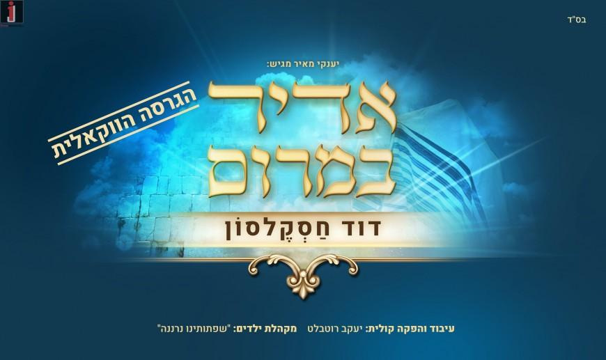 Yanki Meir Presents: David Chaskelson – Adir BaMarom Acapella