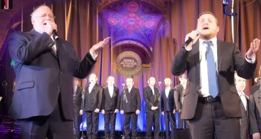"""Aneini/Tatte"" Live Accapella – Baruch Levine, Rivie Schwebel & Shir V'shevach Boys Choir"