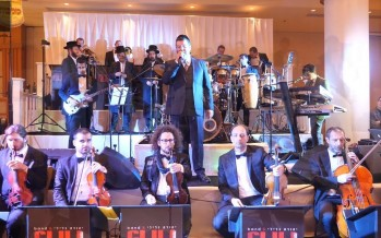 Yehuda Galili & Koby Grinboim Open The Wedding Season With 16 Musicians Accompanied by The Malchus Choir