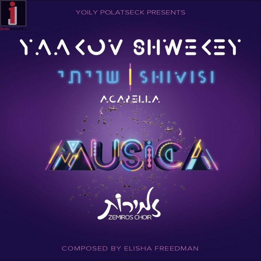 Yaakov Shwekey & Zemiros Choir | SHIVISI | Acapella Version
