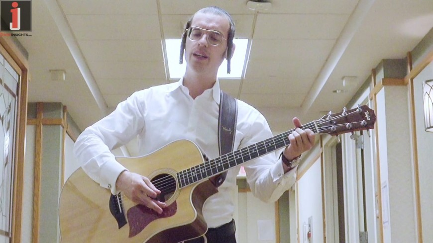 """Emotional Artist Dudi Knopfler In A New Video/Song Saturated With Hope & Faith – """"Hashem Rofecha"""""""