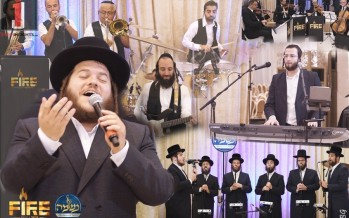 """Levy Falkowitz , The """"Fire"""" Band & """"Neshuma"""" Choir In A Delightful Medley"""