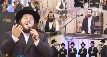 "Levy Falkowitz , The ""Fire"" Band & ""Neshuma"" Choir In A Delightful Medley"