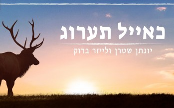 Ke'ayal Ta'arog – A cappella – Yonatan Stern & Leizer Brook