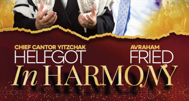 Park East Synagogue 15th Annual Benefit Concert Starring: Chief Cantor Yitzchak Helfgot & International Superstar Avraham Fried