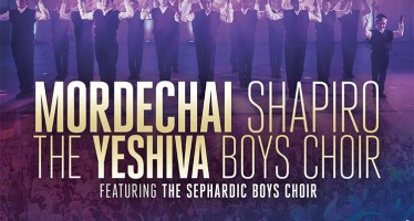 EG Productions Presents: MORDECHAI SHAPIRO, THE YESHIVA BOYS CHOIR Featuring The Sephardic Boys Choir