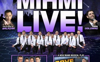 MIAMI LIVE! MIAMI TEENS – The Illusion of  SALAZAR & A NEW MIAMI MUSICAL PLAY – SAVE THE DAY! & ARI GOLDWAG