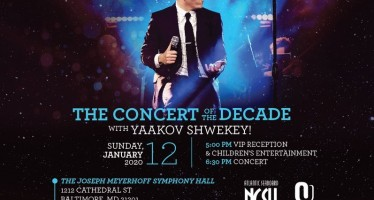 Atlantic Seaboard NCSY 45th Annual Jewish Music Festival With Yaakov Shwekey