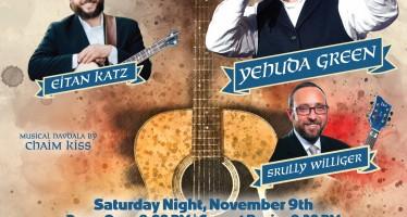 Reb Shlomo Carlebach Tribute Concert 2019