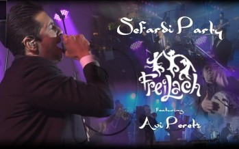 Sefardi Party! Freilach Band ft. Avi Peretz