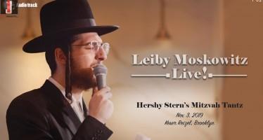 Badchen Leiby Moskowitz Releases a Heartwarming Mitzvah Tantz Track!