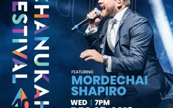 The 40th Annual South Florida Chanukah Festival with Mordechai Shapiro @ Gulfstream
