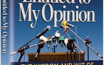 Everyone's Entitled to My Opinion – The Wisdom and Wit of Rabbi Dovid Orlofsky