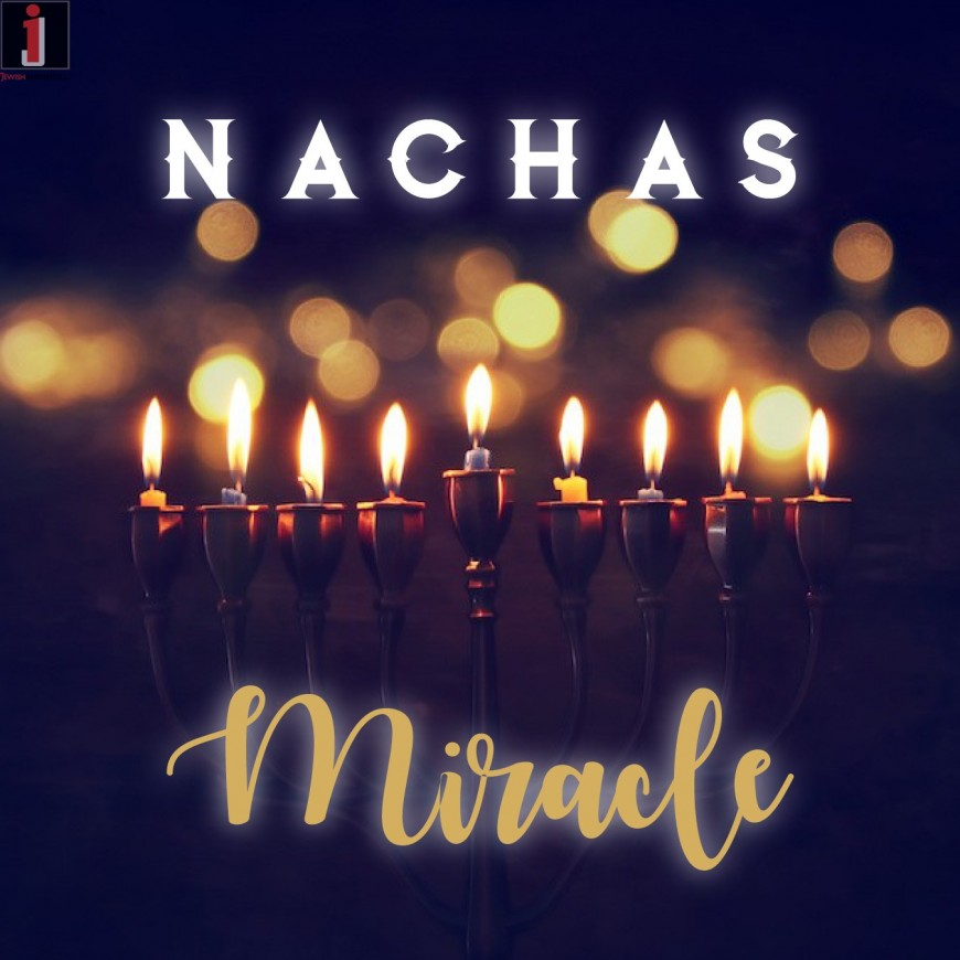 "NACHAS Releases New Single In Anticipation of Chanukah ""Miracle"""