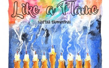 NAFTALI BLUMENTHAL | LIKE A FLAME | OFFICIAL MUSIC VIDEO